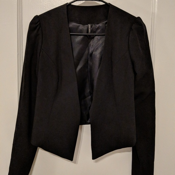 best service 100% quality good selling Naf naf cropped blazer